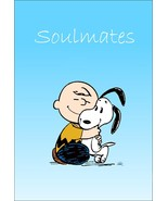 """Charlie Brown Snoopy Collectible Peanuts """"Soulmates"""" Stand-Up Display - ... - $15.99"""