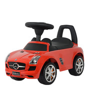 Best Ride On Cars 4-in-1 Mercedes Car Riding Push Toy - Red or White - $79.99