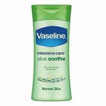 Vaseline Intensive Care Aloe Soothe Body Lotion  100ml - $12.34