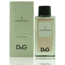 3 L'Imperatrice by Dolce & Gabbana D&G 3.3 / 3.4 oz EDT SPRAY for Women - $49.99