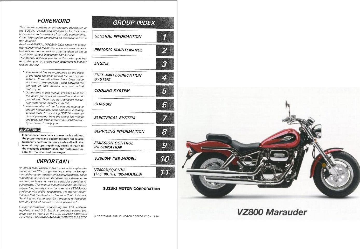 1998 Suzuki Marauder Wiring Diagram - Wiring Diagram