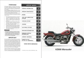 1997-2003 Suzuki VZ800 Marauder Service Repair & Parts Manual CD --- VZ 800 - $12.00