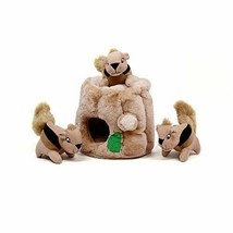Outward Hound Hide-A-Squirrel Puzzle Plush Squeaking Toys Dogs XL - $18.80