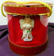 NEW $50 NIB 4 Lenox Mini Porcelain Angels Ornaments Christmas Tree Decor... - $22.99