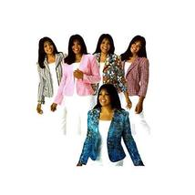 Womens Jacket with Front Variations Khaliah Ali Simplicity 4302 Sewing Pattern S - $18.13
