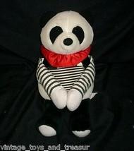 30.5cm Vintage 1988R Dakin Bebé Oso Panda Cuna Correas Peluche Juguete de Felpa - $30.73