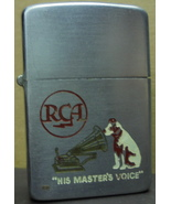 Vintage Lighter Zippo RCA His Master's Voice from Sioux Falls SD Warren ... - $60.00