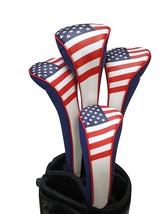 USA Patriota Golf Cremallera Fundas para 1 3 5H Pilotos Híbrido Calle Cu... - $38.54