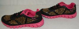 Crazy Train RUNWILD14 Black Pink Cheetah Sneakers Size 11 image 5