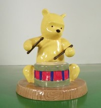 Royal Doulton the Pooh Collection Figurine RUM TUM TUM WINNIE ON HIS DRUM - $24.70