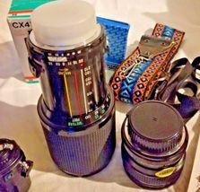 Nikon EM 35MM and 50MM Lens ..Camera and Bag and Vivitar Lenses... image 9
