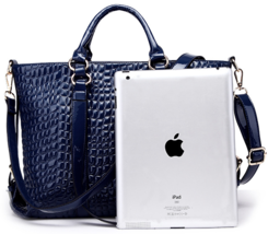 Free Shipping Women Handbags Crocodile Pattern Shoulder Bags Handbags H403-2 - $42.99