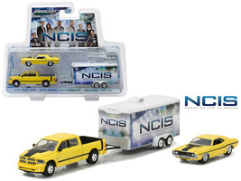 NCIS TV SERIES SET HOLLYWOOD HITCH & TOW 4 1/64 GREENLIGHT 31040 C - $36.95