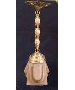 Fine Art Nouveau Glass Lamp french 1900 parisian antique deco skyscraper... - $280.00