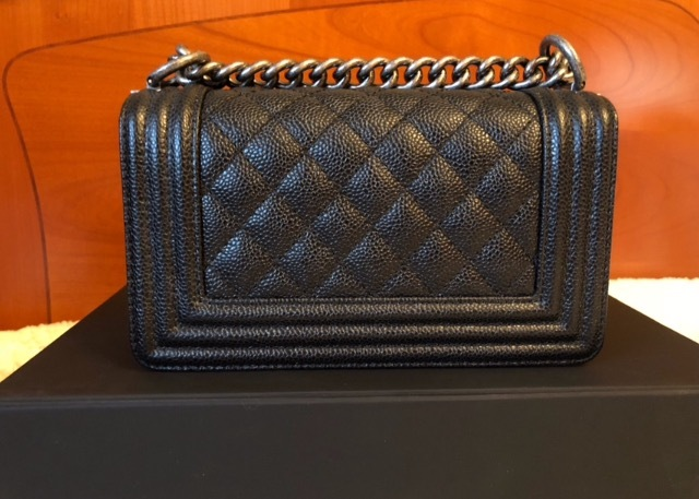 5ec04ddb3a62f6 New Chanel Small Le Boy Black Caviar and 50 similar items