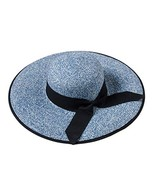 George Jimmy Beach Seaside Sunscreen Hat Hiking Shopping Straw Sunhat-A3 - $21.29