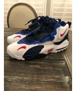 NIKE Air Max Speed Turf Trainers Giants White Red Blue Deion Size 15 BV1... - $113.85