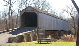 Schofield Ford Covered Bridge 13 x 19 Unmatted Photograph - $35.00