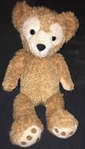 "Duffy the Disney Bear Disney Parks Stuffed Animal Hidden Mickey 18"" Plush Teddy - $29.69"