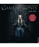 Game Of Thrones TV Series 16 Month 2021 Wall Calendar NEW SEALED - $15.47