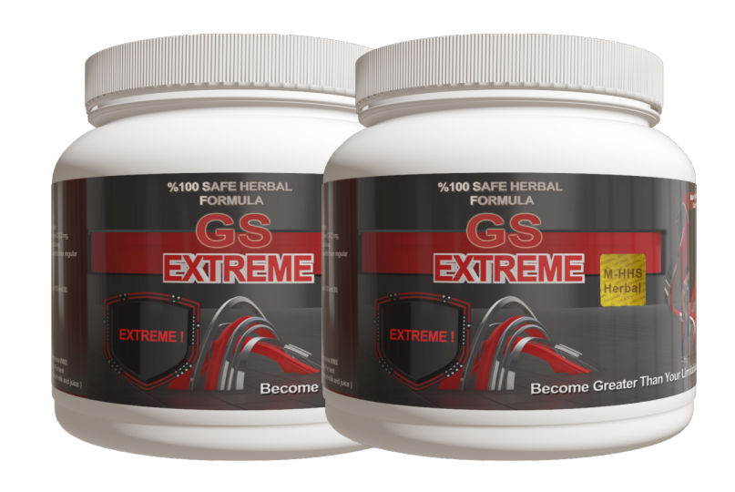 2 Month Supply of Gs Extreme Powder  - 2 Herbal