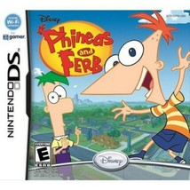 DISNEY's Phineas and Ferb Video Game (Nintendo DS, 2009, Rated E) FREE S... - $7.59