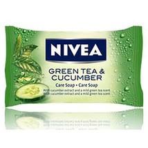Nivea Bar Soap: Green Tea & Cucumbe - 90 G Free Shipping - $5.89