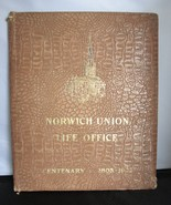 Antique Folder Norwich Union Life Office Centenary 1803 to 1903 Insurance - $38.00