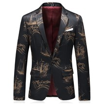 "2018 spring Men""s coats Single button suits casual fashion blazer men ja... - $91.60"