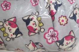 "Cotton Fabric 4 Yards Bowtie Cats From JoAnns New 42"" Wide - $29.69"