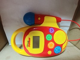 Disney Junior Sing with Me Sing Along Music Player w/ Microphone  - $9.50