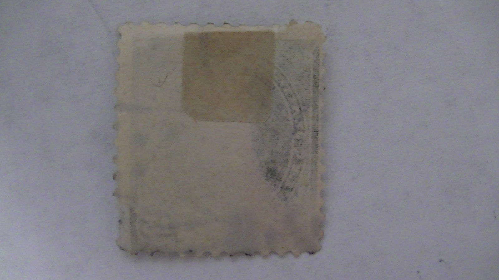 Olive Green Vintage USA Used 15 Cent Stamp