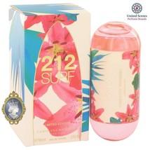Carolina Herrera 212 Surf for Women 2.oz_60ml Eau De Toilette EDT Perfum... - $97.99