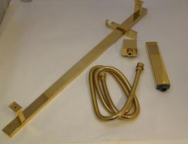 Altmans Aqueduct 62SRXPG Complete Rectangle Style Handheld Shower -Polis... - $400.00