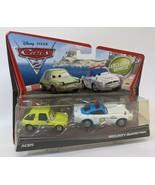 2010 Disney Pixar CARS 2 Exclusive 2-Car Set - Acer & Security Guard Fin... - $28.00