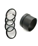MACRO CLOSE UP Lens 4 Kit + Tube adapter bundle for Sony DSC-H7 DSC-H9 D... - $50.33