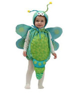 Infant Girls Dragonfly Halloween Costume Size 6-18 Months - $25.00