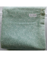 Fabric Brushed Cotton Light Flannel Mint Green Modified Paisley 44 W 1 1... - $7.99