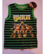 Nickelodean Teenage Ninja Turtles Tank Top Size 7 NWT - $11.19