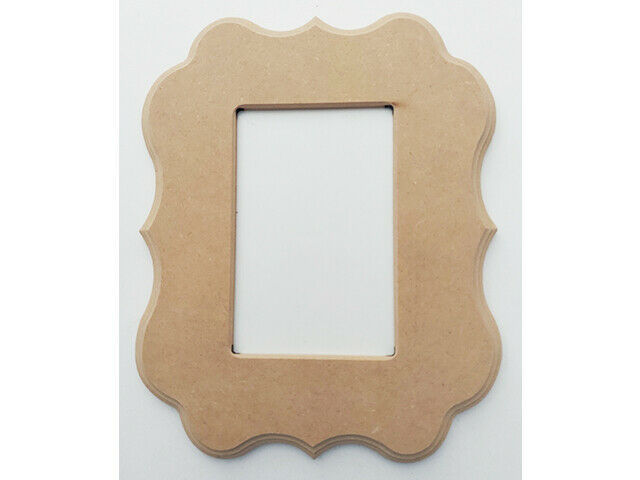 """MDF Frames, 10.25"""" x 8.25"""", Paint or Decorate to Make It Your Own!"""