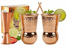 EXTRA THICK HEFTY 20 Gauge Moscow Mule Copper Mugs by Eximius Power | 10... - $31.75