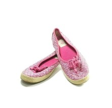 "UGG Slip On Canvas Loafer ""Syleste"" Women's Sz 7 Pink (tu3ep) - $32.75"