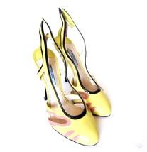S-1366105 New Prada Calzature Donna Vernice Classic Pump Shoe Sz US-9 Ma... - $359.99