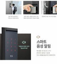 Samsung Push Pull Door Lock SHP-DR700  Wi-Fi Digital Doorlock 2 Card Keys Pin image 7