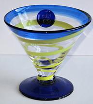 Kosta Boda (1) Royal Caribbean Martini, Margarita Cocktail Glass, Handbl... - $29.99