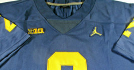 CHARLES WOODSON / AUTOGRAPHED MICHIGAN WOLVERINES BIG TEN PRO STYLE JERSEY / COA image 6