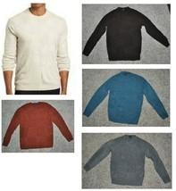 Mens Dockers Sweater Lightweight Long Sleeve Crewneck Acrylic NEW $42-si... - $17.00