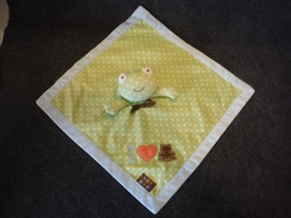 Blankets and Beyond Frog Security Blanket Lovey Green Baby Baby - $9.99