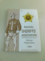 1988 SHERIFFS ASSOCIATION Official Publication - $44.54
