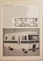 1969 Print Ad AALITE 220 Motor Homes Dodge M-300 Chassis Benton Harbor,MI - $9.41